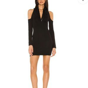 Revolve h:ours Willow Dress in Black Size Small